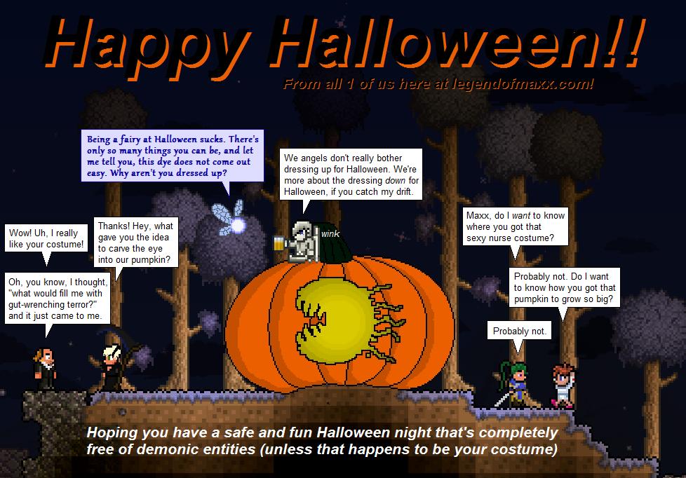 The Legend Of Maxx - Halloween 2012!