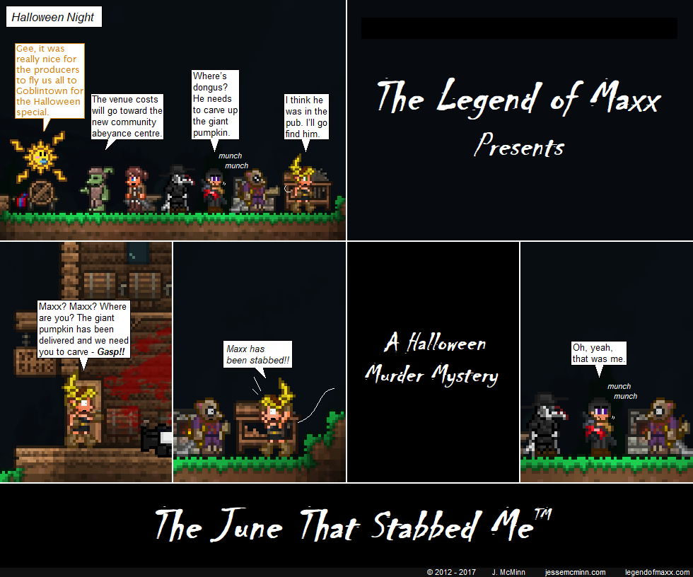 The June That Stabbed Me: Part I